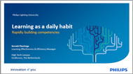 Learning as a daily habit